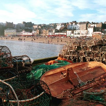 Lobster pots in Scarborough