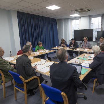 The Rural Commissioners hear the first speakers giving evidence in Northallerton on 18 December.