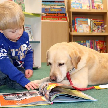 Read2Dogs sessions are to be launched at Selby library