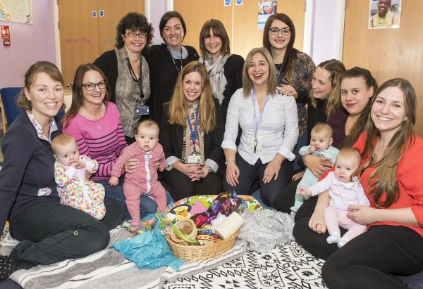 Breastfeeding support group in North Yorkshire.