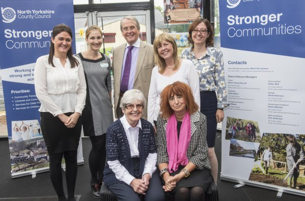 Stronger Communities team at roadshow