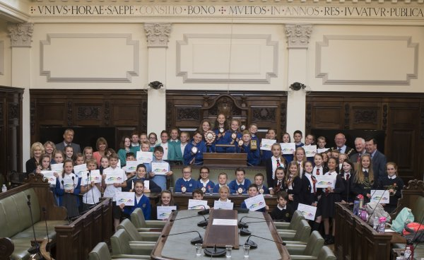 Primary schools cometogether for debating competition final