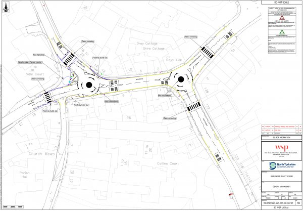 The design for the new junctions at Bond End