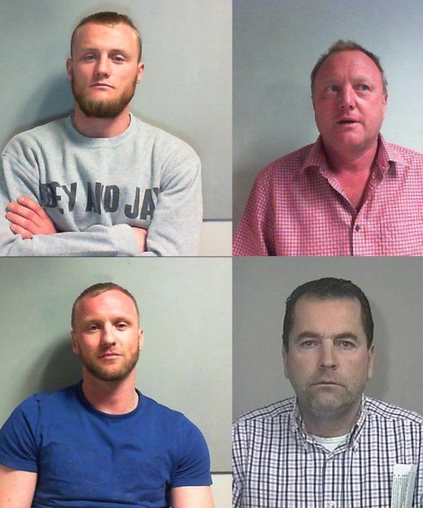The men were convicted after a three week trial