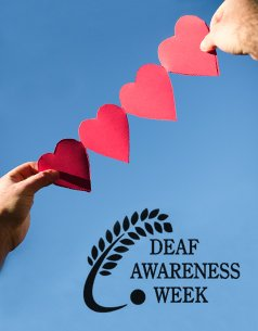 Deaf Awareness Week branding