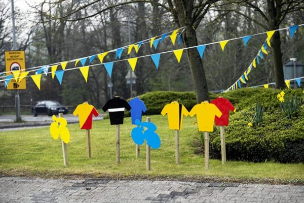 Tour de Yorkshire in North Yorkshire decorations