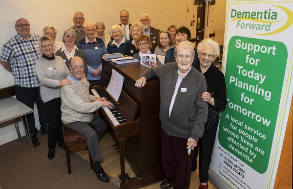 Groups at Dementia Forward events