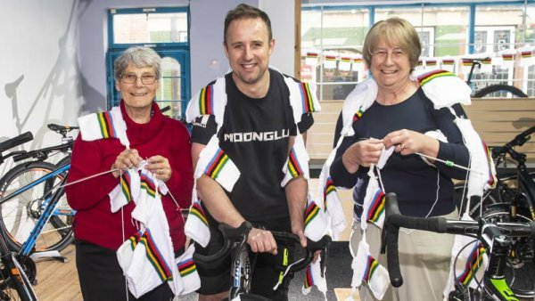 Ripon knitters making UCI Road World Cycling Championships jerseys