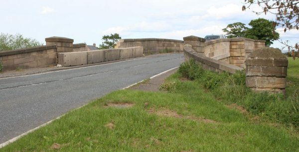 A view of Morton on Swale Bridge in North Yorkshire