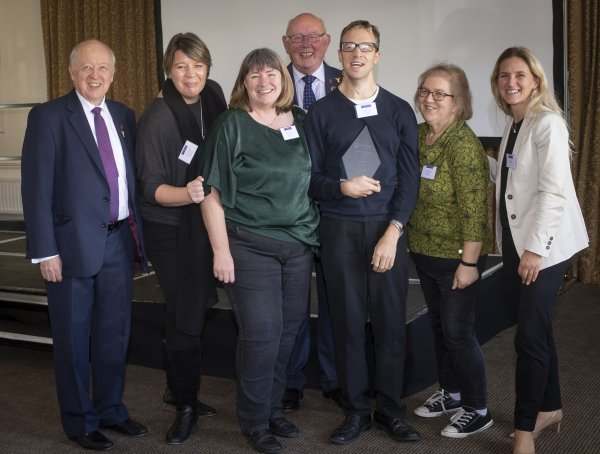 some of last year's community award winners