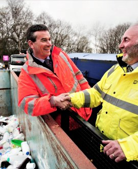 Waste management company Yorwaste has entered into a partnership with North Yorkshire County Council to manage and operate all the authority's household waste recycling centres.
