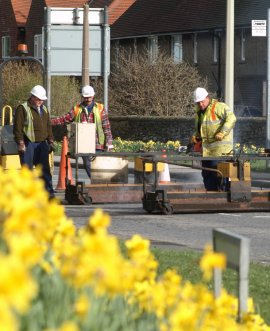 North Yorkshire County Council plans to begin resurfacing of roads at two locations in Scarborough next week.