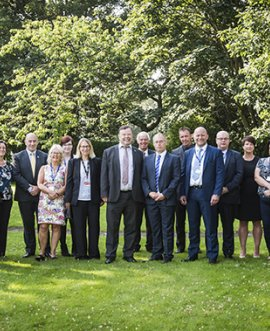members of the shared health and safety advisory team