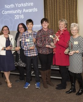 last year's community award winners