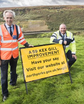 Kex Gill consultation launch