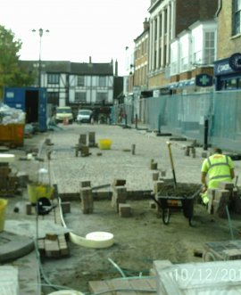 Work under way in Ripon