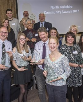 Community awards winners and runners-up