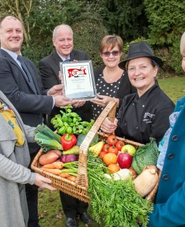 North Yorkshire school meals service gets silver award for serving fresh, healthy food