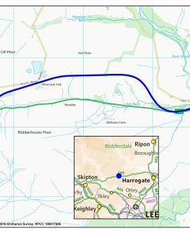 Kex Gill proposed preferred route.