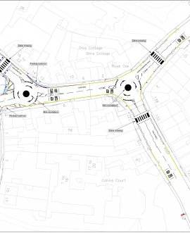 The new layout aims to reduce the number of queuing vehicles, thereby improving air quality for residents and all people who use the junction.