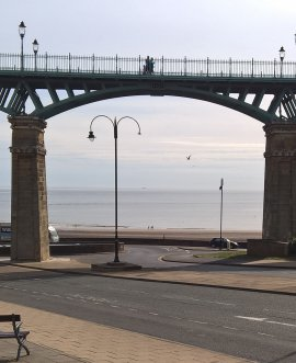 The Spa Bridge in Scarborough