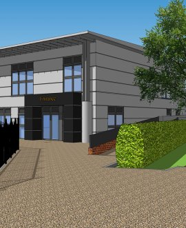 artist's impression of new sixth form