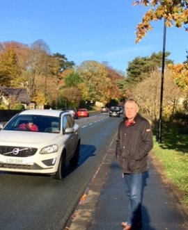 Local residents had raised concerns for some time about crossing the road