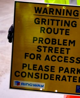 Drivers asked to park considerately to allow gritters to pass unobstructed