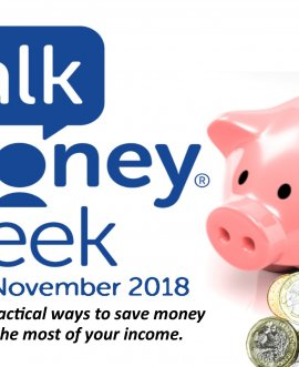 Talk Money Week poster