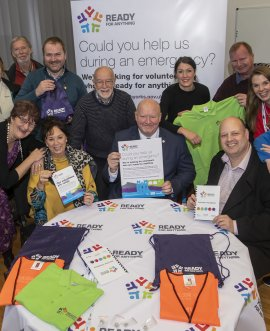 Ready for Anything is a huge opportunity for volunteers across the whole of North Yorkshire