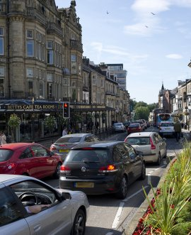 traffic in Harrogate