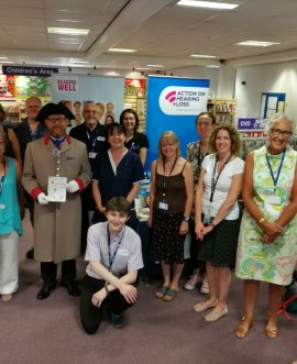 a group at last year's Health Yourself event