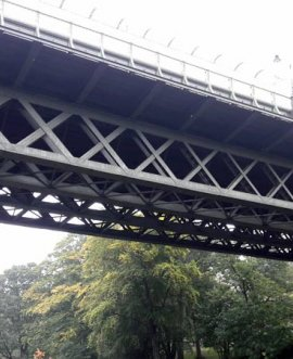 Valley Bridge in Scarborough North Yorkshire which is going to get £2m of repairs