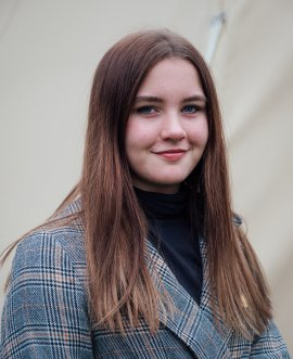 Member of the UK Youth Parliament Rebecca Morgan, who is helping to organise a youth climate change summit