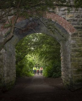 The Scarborough to Whitby Cinder Track cycle way