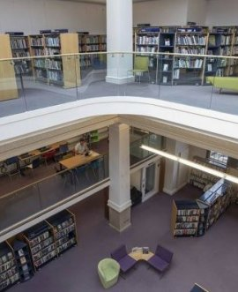 interior of Harrogate library