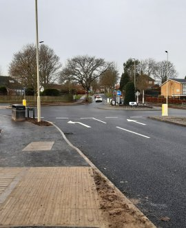 improvements at Stepney Road junction