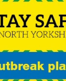 Stay safe in North Yorkshire outbreak plan image