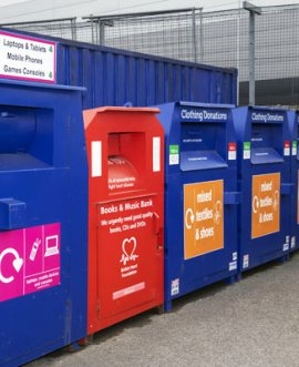 Closed household waste recycling centres