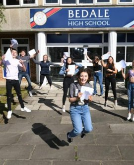 GCSE results at Bedale School