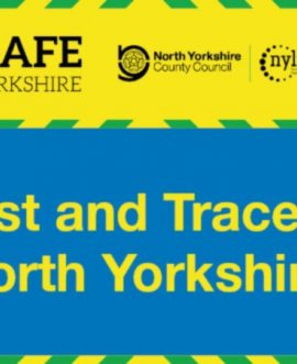 Test and trace in North Yorkshire