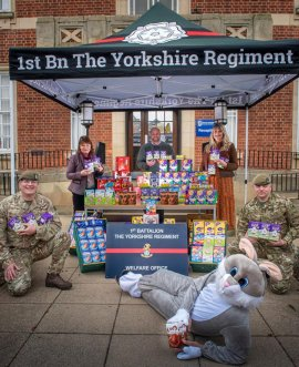 The 1st Battalion The Yorkshire Regiment