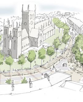 Selby consultation sketch