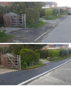 Barmoor Lane before and after